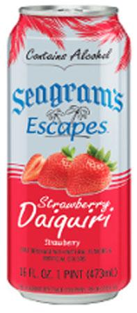 Seagram's Escapes Strawberry Daiquiri 4 PK Cans