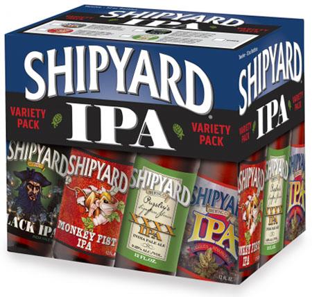 Shipyard IPA Variety 12 PK Bottles