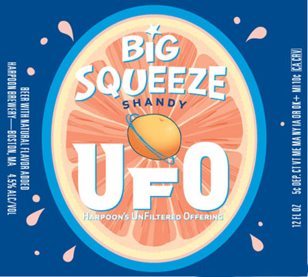 Harpoon Big Squeeze Shandy 12 PK Cans
