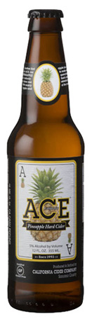 Ace Pineapple Hard Cider 6 PK Bottles