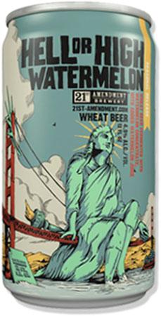 21st Amendment Watermelon Wheat 6 PK Cans