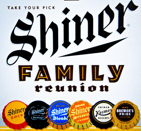 Shiner Family Reunion 6 PK Bottles