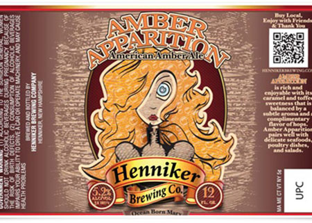 Henniker Amber Apparition Bottle