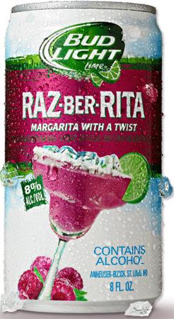 Bud Light Lime Raz-ber-rita 4 PK Cans