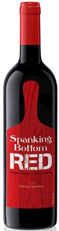 Spanking Bottom Red