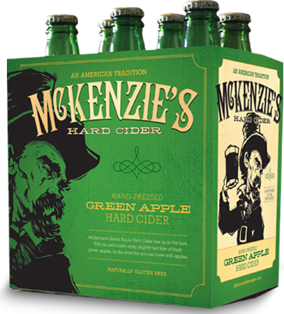Mckenzie's Hard Cider Green Apple 6 PK Bottles