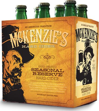 Mckenzie's Hard Cider Lazy Lemon 6 PK Bottles