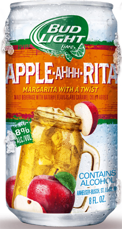 Bud Light Lime Apple-brrr-rita 12 PK Cans
