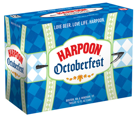 Harpoon Octoberfest 12 PK Cans