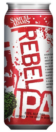 Sam Adams Rebel IPA Cans