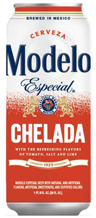 Modelo Especial Chelada Cans