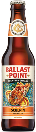 Ballast Point Sculpin IPA 6 PK Bottles