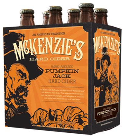 Mckenzie's Hard Cider Pumpkin 6 PK Bottles