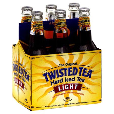 Twisted Tea Hard Iced Tea Light 6 PK Bottles