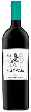 Middle Sister Wild One Malbec