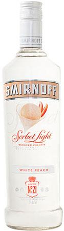 Smirnoff Sorbet Light White Peach Vodka