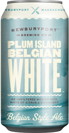 Newburyport Plum Island Belgian White 6 PK Cans