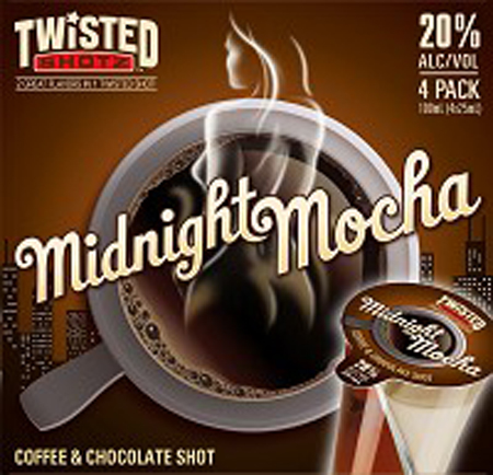 Twisted Shotz Midnight Mocha 4 Pack