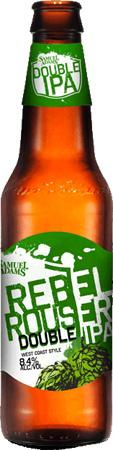 Sam Adams Rebel Rouser Double IPA 6 PK Bottles