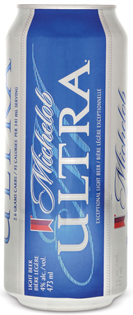 Michelob Ultra 4 PK Cans
