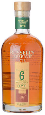 Russell's Reserve Rye 6 Years Bourbon Whiskey