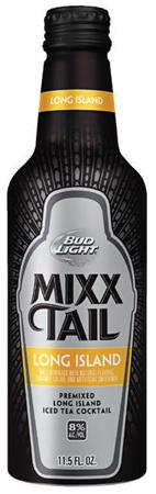 Bud Light Mixx Tail Long Island Aluminum Can