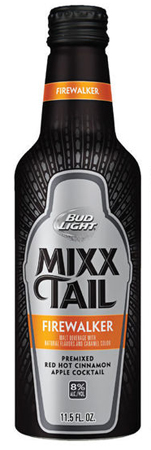 Bud Light Mixx Tail Firewalker 8 PK Aluminum Bottles