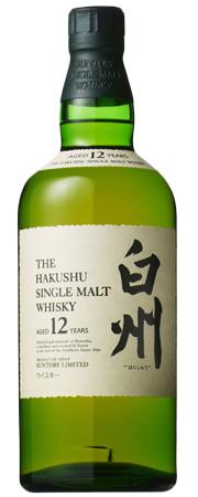The Hakushu 12 Years Single Malt Japanese Whisky
