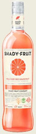Shady Fruit Ruby Red Grapefruit Vodka