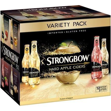 Strongbow Variety 12 PK Bottles