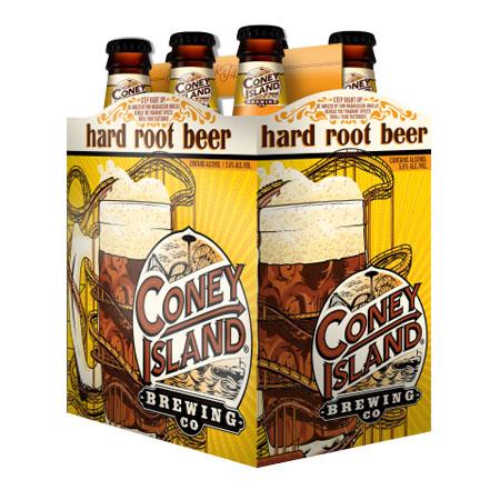 Coney Island Hard Root Beer 6 PK Bottles
