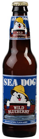 Sea Dog Wild Blueberry 6 PK Bottles