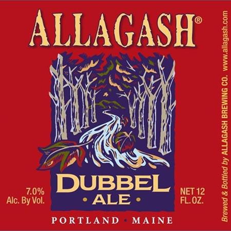 Allagash Dubbel Ale 4 PK Bottles