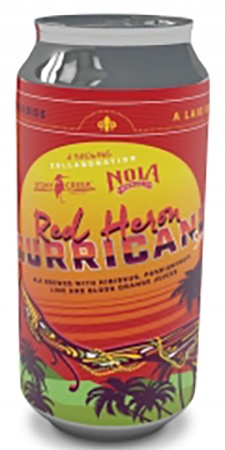 Stony Creek Red Heron Hurricane Sour 4 PK Cans