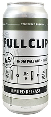 Stoneface Full Clip 4 PK Cans