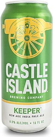Castle Island Keeper IPA 4 PK Cans