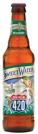 Sweetwater 420 Extra Pale Ale 6 PK Bottles