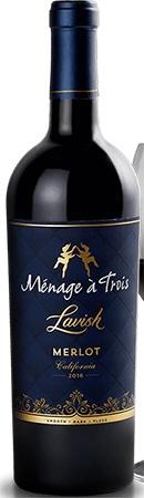 Menage A Trois Lavish Merlot