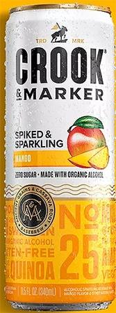 Crook & Marker Hard Seltzer Mango 4 PK Cans