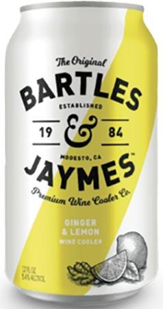 Bartles & Jaymes Ginger & Lemon 6 PK Cans