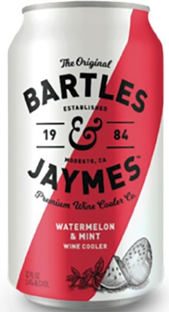 Bartles & Jaymes Watermelon & Mint 6 PK Cans