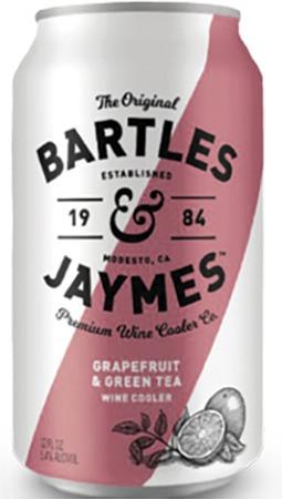 Bartles & Jaymes Grapefruit & Green Tea 6 PK Cans