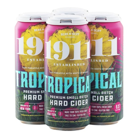 1911 Cider Tropical 4 PK Cans