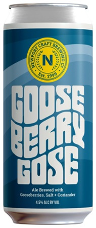 Newport Craft Goose Berry Gose Ale 4 PK Cans