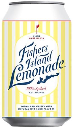 Fishers Island Lemonade 4 PK Cans