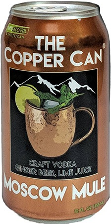 Refuel Moscow Mule 4 PK Cans