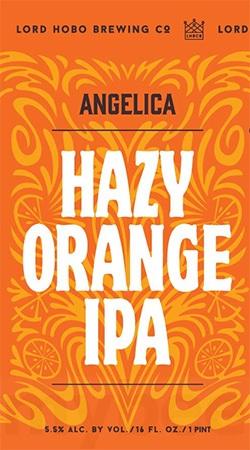 Lord Hobo Angelica Hazy Orange IPA 4 PK Cans