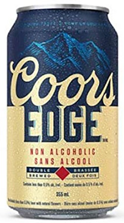 Coors Edge NA 12 PK Cans