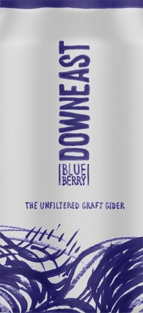 Downeast Cider Blueberry 4 PK Cans