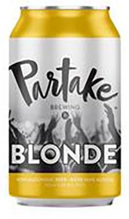 Partake Non-alcoholic Blonde 6 PK Cans